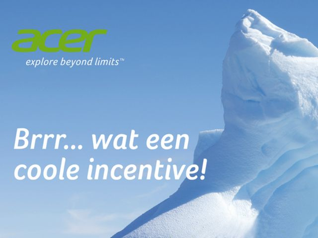 Ontwerp Acer poster Cool incentive!