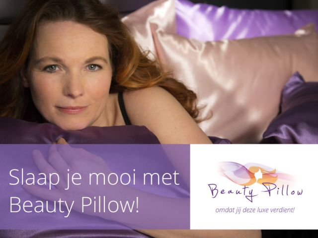 Beauty Pillow advertentie, flyer