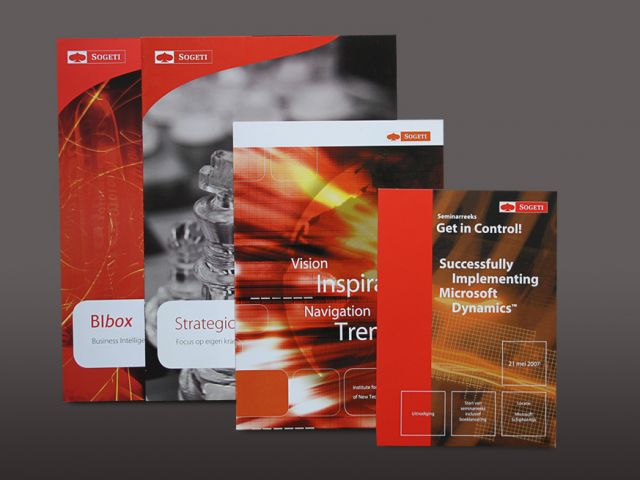 Sogeti diverse brochures